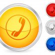 Phone button — Stock Vector #4973320