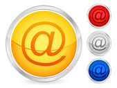 Email button — Stock Vector