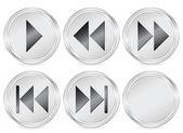 Media circle icon — Stock Vector