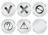Symbol circle icon — Stock Vector