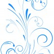 Floral swirl ornament — Stockvector  #5342892