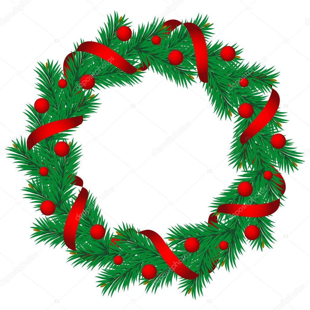诞节装饰边框 lightsource  量圣诞树松树 mythja  松边框和圆形装饰