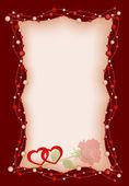 Sfondo del san valentino — Vettoriale Stock