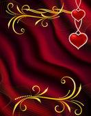 Background by the Valentine — Cтоковый вектор