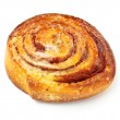 Stock Photo: Sweet bun with cinnamon