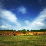 ruiny starego zamku — Zdjęcie stockowe