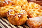 Different sweet baking — Stock Photo