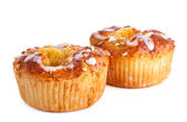 Two apple cakes — Stock Photo