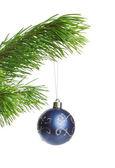 Blue decoration ball — Stock Photo