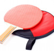 Table tennis racket — Stock Photo