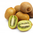 Stock Photo: Many fresh kiwi