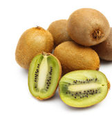 Many fresh kiwi — Stock Photo