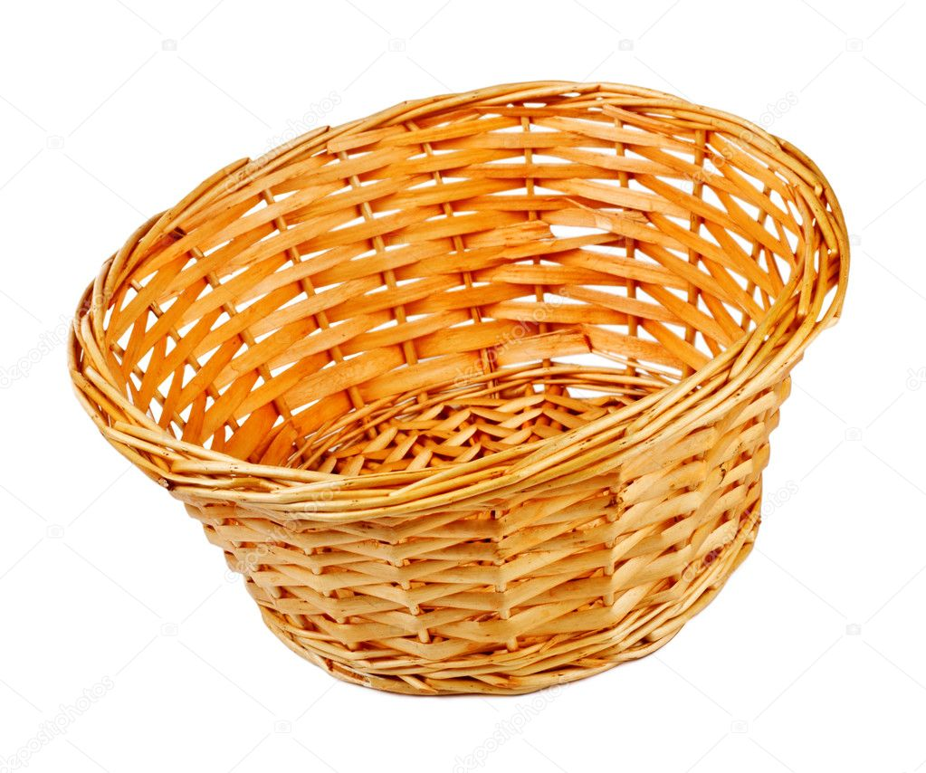 Empty Basket Empty basket - stock image