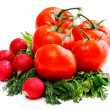 Foto de Stock  : Vegetables for salad