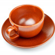 Coffee cup with saucer — Stock Photo