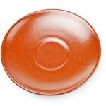 Коричневые керамические тарелки — Стоковое фото