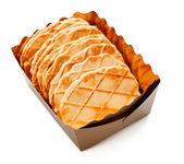 Crisp Waffles — Stock Photo