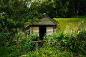 Wooden Cabin — Stock Photo