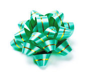 Green Bow — Stock Photo