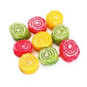 Spiral Gelatin Sweets — Stock Photo
