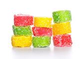 Spiral Gelatin Sweets — Stock Photo