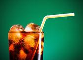 Cola Glass — Stock Photo