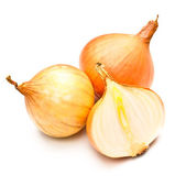 Three Onions — Stock Photo