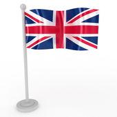 Flag of Britain — Stock Photo