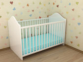 Children's bed — Stock Photo