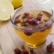 Stock Photo: Rosehip medical vitaminous tea