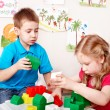 Child play construction set . - Stock Photo