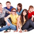 Group of happy young — Stock Photo #3932972