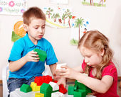 Child play construction set . — Stock Photo