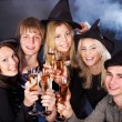 Group young at nightclub. — Stock Photo #3955954