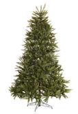 没有装修的绿色圣诞杉木树. — 图库照片