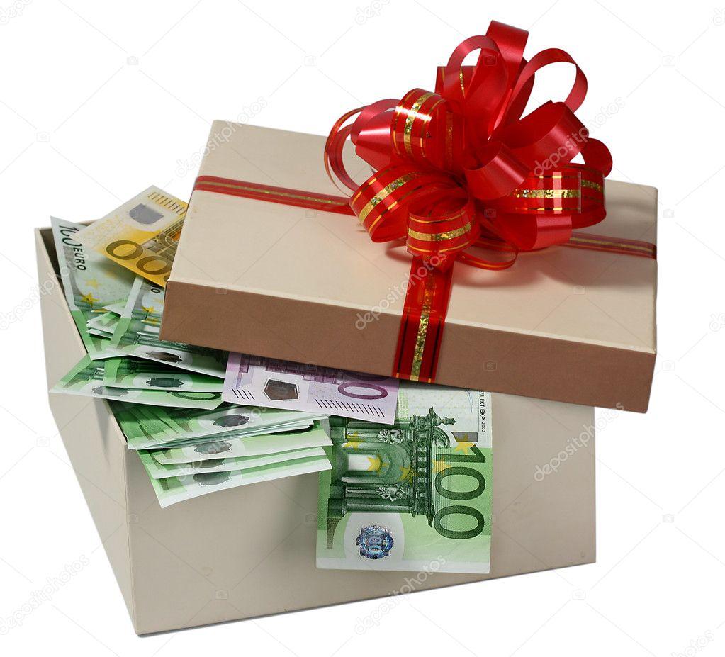 Коробочка с деньгами в подарок 377