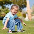 Child play in the park — Stock Photo
