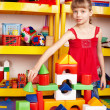 Child play block and construction set. -  