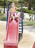 Child on playground. — Stock Photo