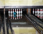 Group of bowling skittles. — Stock Photo