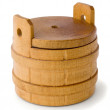 Wooden barrel — Foto Stock