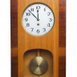 Old wall clock — Stockfoto