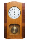 Old wall clock — Stock Photo