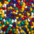 Stock Photo: Plastic granules