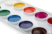 Watercolor paints — Stock Photo