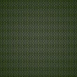 Vetorial Stock : Green hexagon metal background