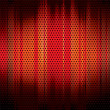 Metal grid background red — Stock Vector