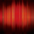 Metal grid background red - Stock Vector