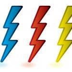 Lightning bolts — Stock Vector #4868477