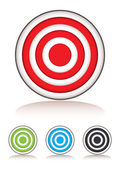 Target selection — Stock Vector